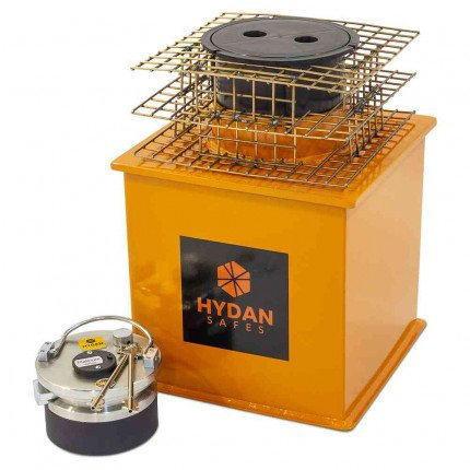 "Key Locking Hydan Platinum Size 2 £35,000 Rated 12"" Round Door Floor Safe"