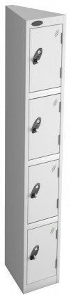 Probe Space Saving 4 Compartment Locker Seed