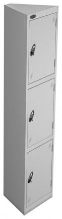 Probe 3 Compartment Retail Locker Pod Seed