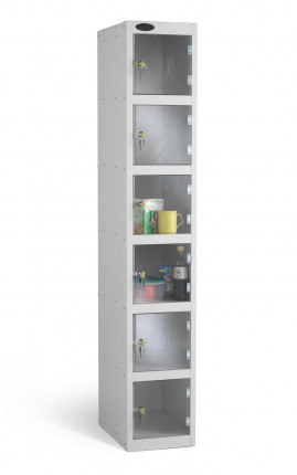 Probe Security Clear View Polycarbonate 5 Door Locker 305x305