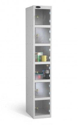 Probe Security Clear View Polycarbonate 5 Door Locker 305x305