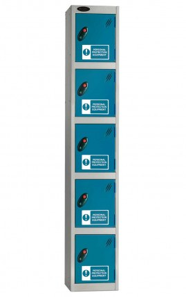 Probe PPE Personal Protection Equipment Lockers with High Visibility Signage