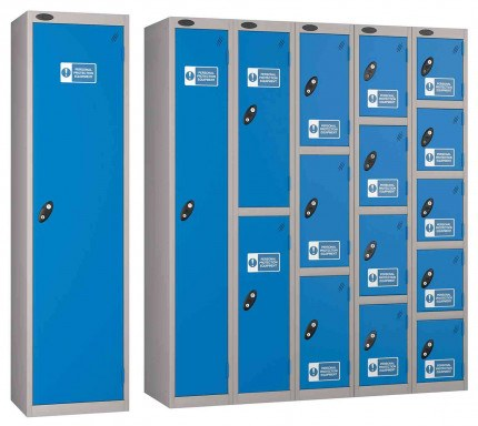 Probe PPE Personal Protection Equipment Lockers with High Visibility Signage to comply with BS5499-1