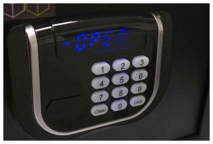 Burton Safes Primo 1E Home Digital Electronic Lock close up