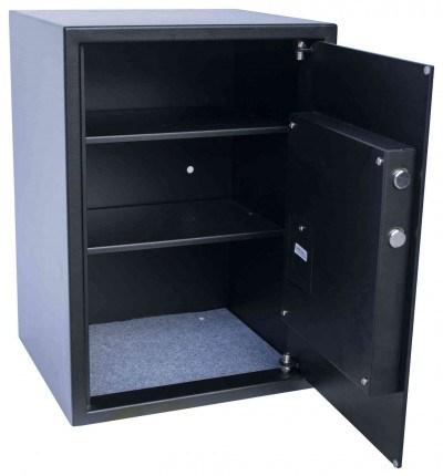 Burton Safes Primo 3E Home Digital Electronic Security Safe - Door open