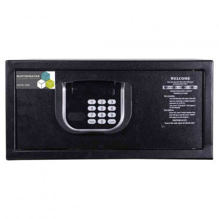 Burton Primo Hotel Security Electronic Laptop Safe front view