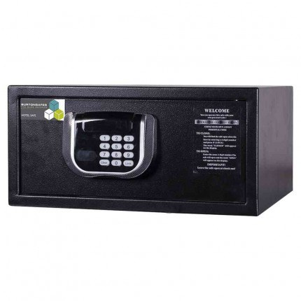 Burton Primo Hotel Security Electronic Laptop Safe closed