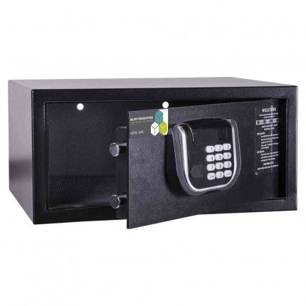 Burton Primo Hotel Security Electronic Laptop Safe door ajar and empty