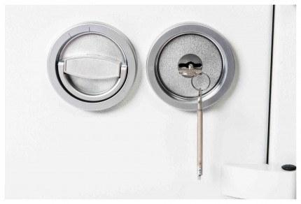 De Raat DRS Prisma 1-1K Key Lock Detail