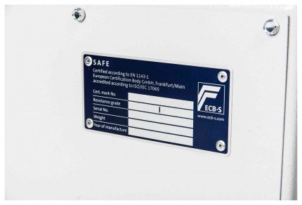 De Raat DRS Prisma 1-0K Eurograde 1 Test certificate