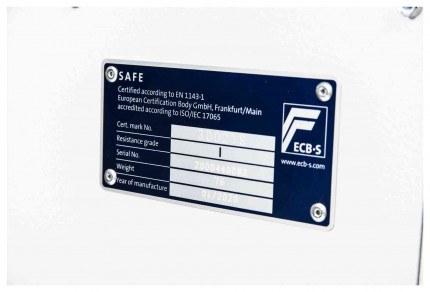 De Raat DRS Prisma 1-2E Eurograde 1 test certificate