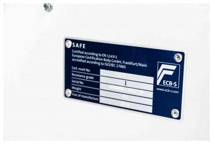 De Raat DRS Prisma 1-3E Eurograde test certificate