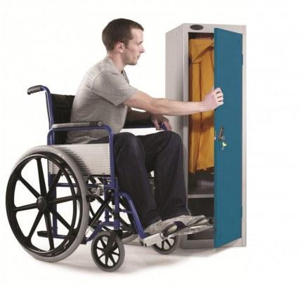 Probe Wheelchair User Disability Locker 1300x380x460 Key Lock