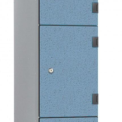 Probe Locker Solid Grade Laminate OVERLAY Door Hinge - on lockers