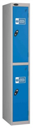 Probe PPE 2 Door Personal Protection Equipment Combination Locking Locker