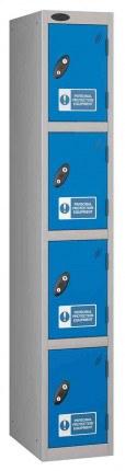 Probe PPE 4 Door Personal Protection Equipment Key Locking Locker