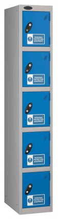 Probe PPE 5 Door Personal Protection Equipment Key Locking Locker