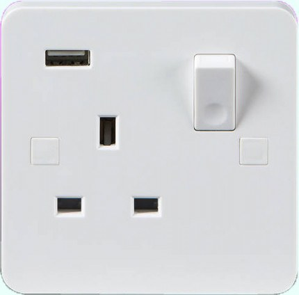 Probe 3 PIN Socket with integrated USB connection