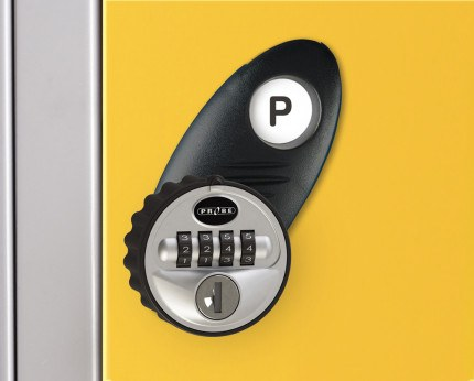 Probe Type P Reprogrammable 4 Digit Combination Lock
