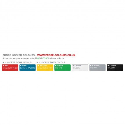 Propbe Locker Colour Range