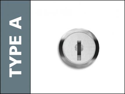 Probe Type A Mastered Cam Key Lock