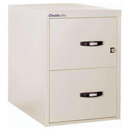 Chubbsafes Profile 25 NT 60 Fire Filling Cabinet 2 Drawer