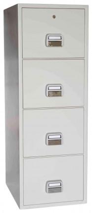 De Raat Sun 4 drawer Fire Filing Cabinet 90 mins Fire - shut
