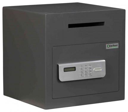 De Raat Protector DS Deposit 1E Electronic Letter Slot Drop Safe - closed