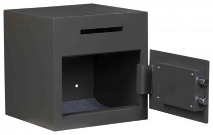 De Raat Protector DS Deposit 1K Key Locking Letter Slot Drop Safe - door open