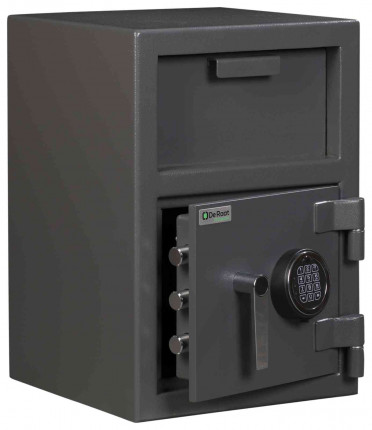 De Raat Protector Deposit Cash Plus 1E Electronic Security Safe - Main door Ajar