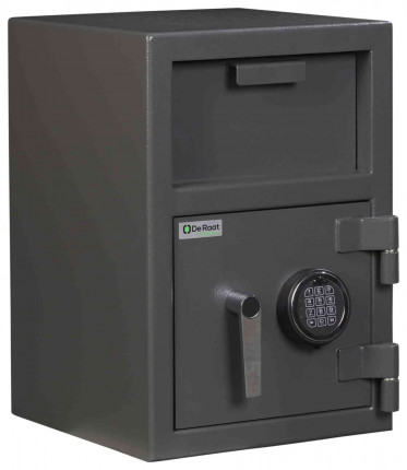 De Raat Protector Deposit Cash Plus 1E Electronic Security Safe - locked