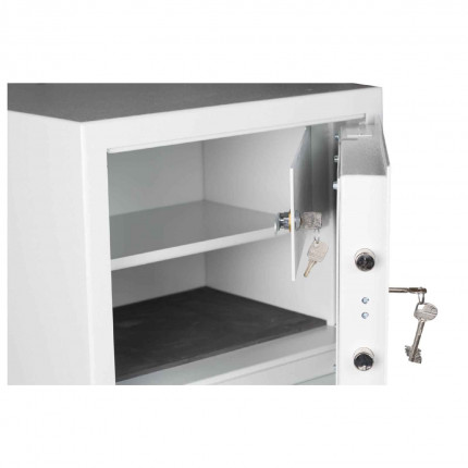 Security Safe with Internal Locking Coffer £4000 - Protector DUO - coffer door open