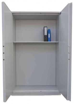 De Raat Protector Plus Fire Resistant Security Cupboard - doors wide open