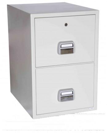 De Raat SF680-2DK 2 Drawer Fire Filing Cabinet 90 mins