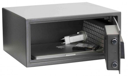 De Raat Protector Sirius 200LTE Laptop Security Safe - Door Open