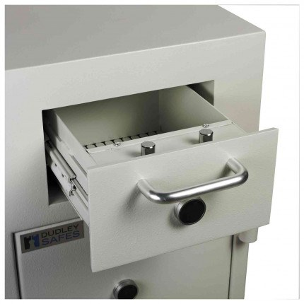 Dudley Europa £10,000 Drawer Drop Security Safe Size 2.5