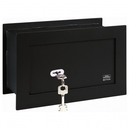 Wall Security Safe - Burg Wachter PW2S PointSafe Key Locking - Closed