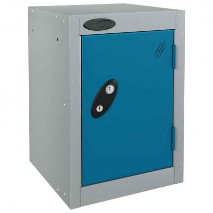Probe 1 Door Quarto Electronic Locking Modular Locker blue