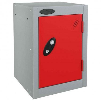 Probe 1 Door Quarto Electronic Locking Modular Locker red