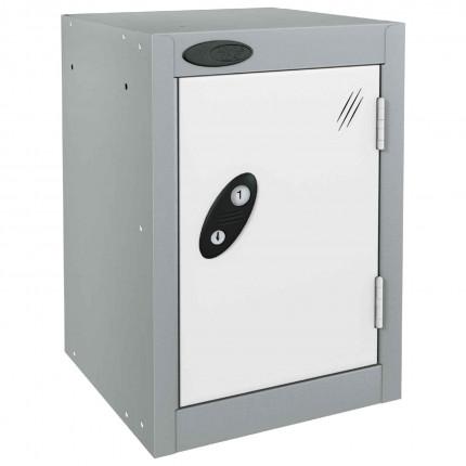Probe 1 Door Quarto Key Locking Modular Storage Locker white