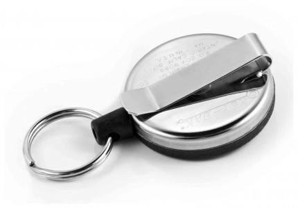 Belt Clip-on 120cm Kevlar ® Cord Key Reel - Key-Bak RSCHDK