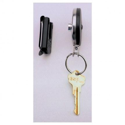 Securikey RSP Spinner Spring Clip Key Reel 60cm Steel Chain