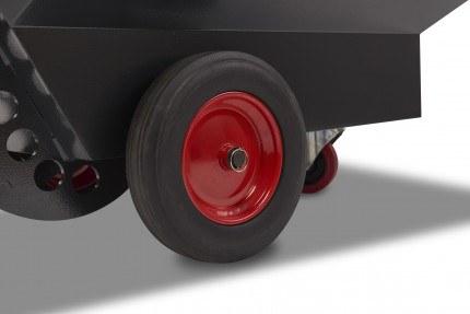 Armorgard RT400 Rubble Truck -  Wheels close up