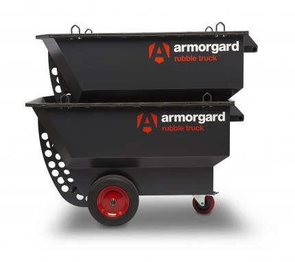 Armorgard RT400 Rubble Truck -Stacked for transportation