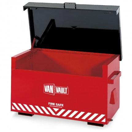 Van Vault Fire-Safe Flammable Liquids Site Secure Storage Box