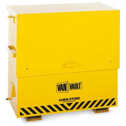 Van Vault Chem Store On-Site COSHH Safety Storage Chest - closed