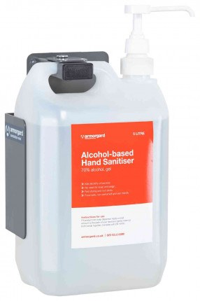 Armorgard Sanistation S10WM Mini Wall Hand Sanitiser Holder - bottle not included