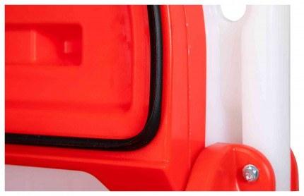 Armorgard Sanistation S20 Mobile Hand Sanitiser Station - close up