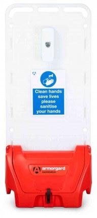 Armorgard Sanistation S20 Mobile Hand Sanitiser Station