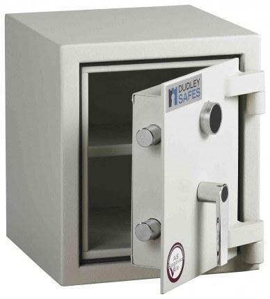Dudley Harlech Lite S2 Fire Security Safe Size 00   - door ajar